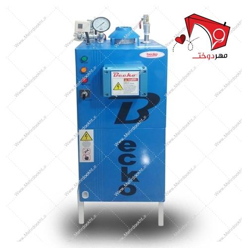 دیگ بخار ۷۰ لیتری بکو با قابلیت تولید بخار بهصورت اتوماتیک با قابلیت تولید بخار با فشار ۵ بار. مناسب جهت کار مزونها و کارگاههای تولیدی.